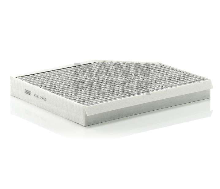Kabinový filtr Mann CUK 2450 - s aktivním uhlím Mann Filter