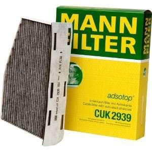 Kabinový filtr Mann CUK 2939 - s aktivním uhlím MANN - FILTER