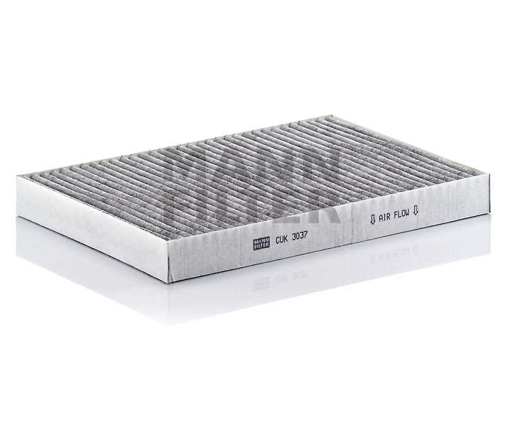 Kabinový filtr Mann CUK 3037 - s aktivním uhlím Mann Filter