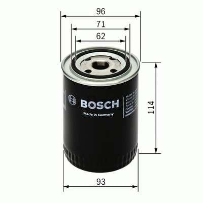 Olejový filtr Bosch BO 0 451 103 313