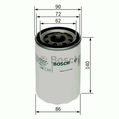 Olejový filtr Bosch BO 0 451 103 347