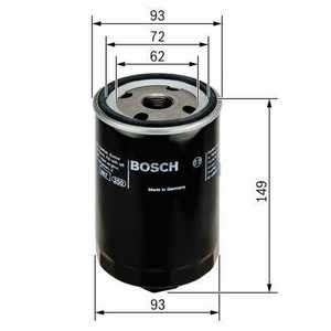 Olejový filtr Bosch F 026 407 004