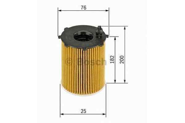 Olejový filtr Bosch F 026 407 002