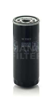 Olejový filtr Mann W 735/2 MANN - FILTER