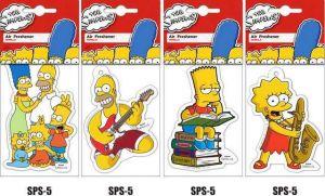 Osvěžovač vzduchu Vanilla The Simpsons JEES