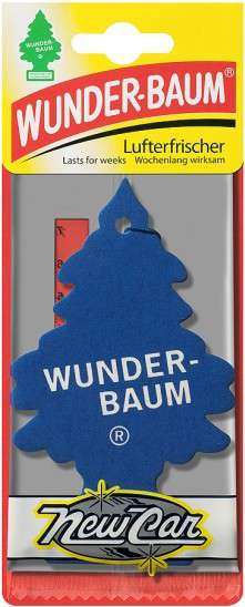 Osvěžovač vzduchu - WUNDER-BAUM New Car