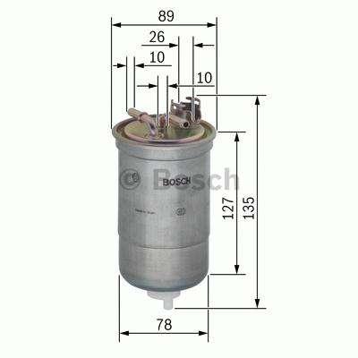 Palivový filtr Bosch BO 0 450 906 429