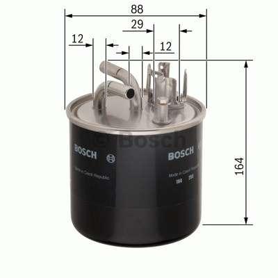 Palivový filtr Bosch BO 0 986 450 509