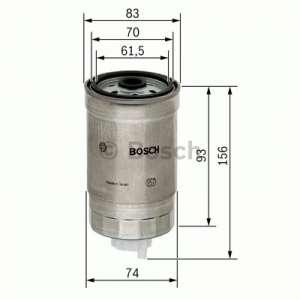 Palivový filtr Bosch BO 1 457 434 106