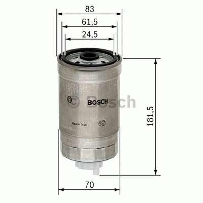 Palivový filtr Bosch BO 1 457 434 184