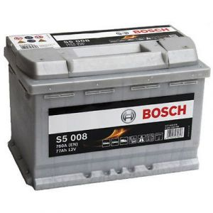 Autobaterie BOSCH S5 008, 12V 77Ah 780A,  (0 092 S50 080)