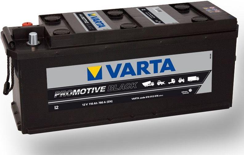 Autobaterie Varta 12V 110Ah 760A, PROmotive BLACK I2 610013