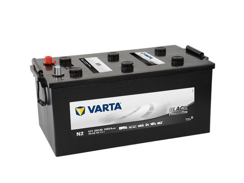Autobaterie Varta 12V 200Ah 1050A, PROmotive BLACK N2 700038