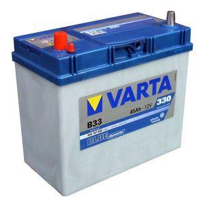 Autobaterie Varta 12V 45Ah 330A, BLUE dynamic B33 545157 (LEVÁ - malé kontakty)