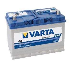 Autobaterie Varta 12V 95Ah 830A, BLUE dynamic G8 595405 LEVÁ