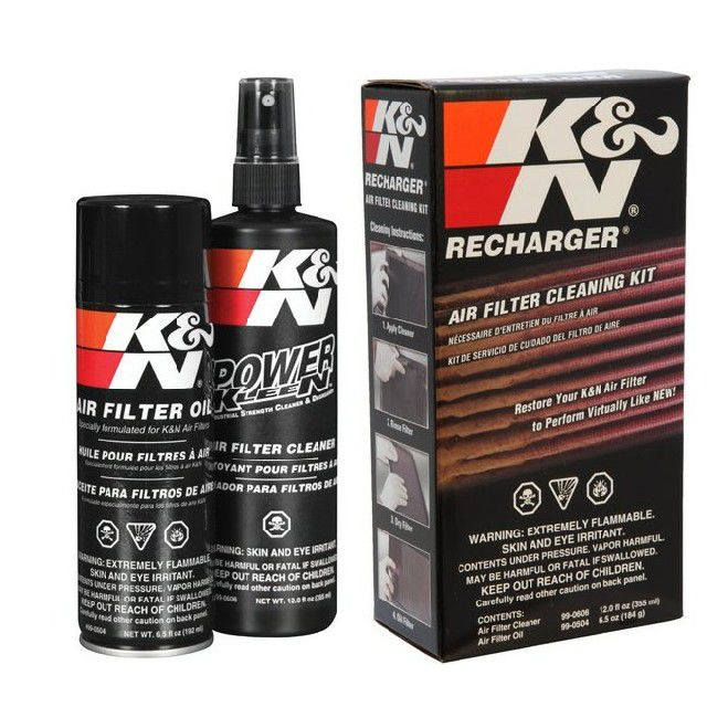 Čistící sada KN filtrů - čistič + olej K&N