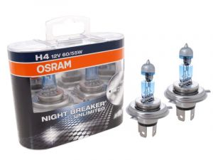 OSRAM H4 12V 55W Night breaker UNLIMITED 64193NBU (sada- 2ks)