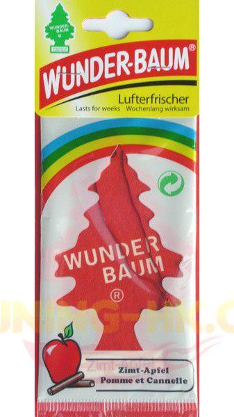 Osvěžovač vzduchu - WUNDER-BAUM Skořice-jablko