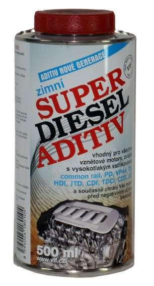 VIF Super diesel aditiv zimní 0,5l do nafty