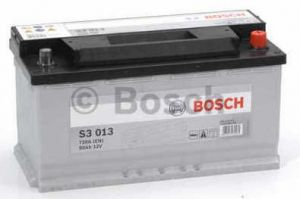 Autobaterie BOSCH S3 013 12V 90Ah 720A, (0 092 S30 130)