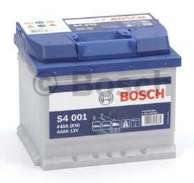 Autobaterie BOSCH S4 001, 12V 44Ah 440A, (0 092 S40 010)