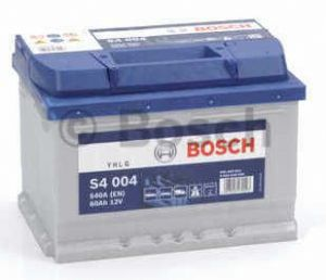 Autobaterie BOSCH S4 004, 12V 60Ah 540A, (0 092 S40 040)