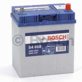 Autobaterie BOSCH S4 018, 12V 40Ah 330A, (0 092 S40 180)