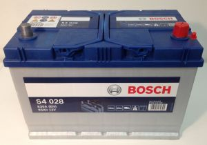 Autobaterie BOSCH S4 028, 12V 95Ah 830A  (0 092 S40 280)