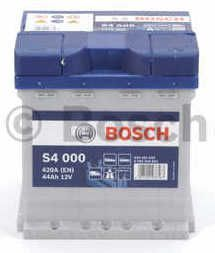 Autobaterie BOSCH S4, 12V 42Ah 420A, (0 092 S40 001)