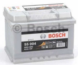 Autobaterie BOSCH S5 004, 12V 61Ah 600A (0092S50040)