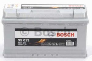 Autobaterie BOSCH S5 013, 12V 100Ah 830A  (0 092 S50 130)