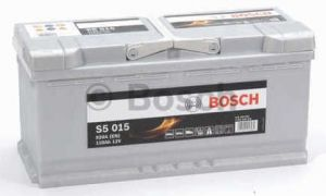Autobaterie BOSCH S5 015, 12V 110Ah 920A,  (0 092 S50 150)