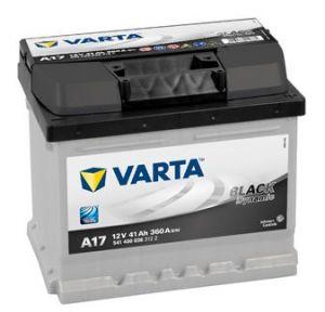 Autobaterie Varta 12V 41Ah 360A, BLACK Dynamic A17 541400