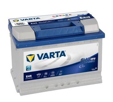 Autobaterie Varta Blue Dynamic EFB 12V, 70Ah, 760A, N70