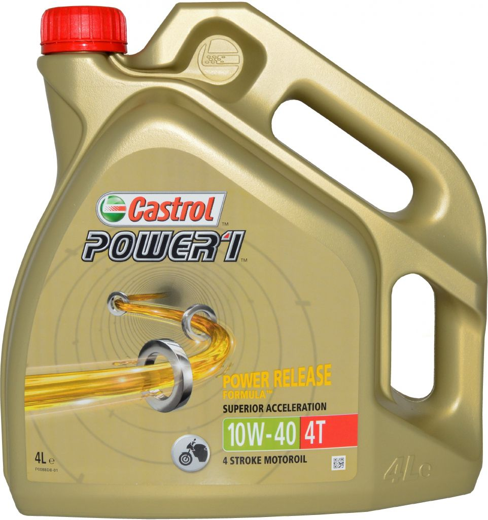 CASTROL POWER 1 4T 10W-40 (GPS) 4 L