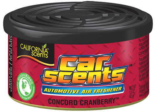 Osvěžovač - Car Scents Concord Cranberry / vůně brusinka California Scents