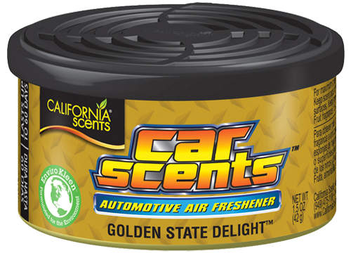 Osvěžovač - Car Scents Golden State Delight / vůně gumoví medvídci California Scents