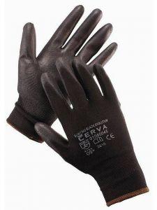 Pracovní rukavice BUNTING EVOLUTION - černé, vel. 10 povrstvené
