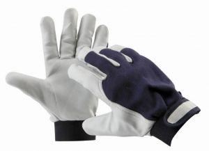 Pracovní rukavice PELICAN blue - vel. 9 kombinované