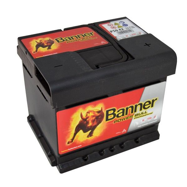Autobaterie Banner 12V, 50Ah, 400A Power Bull PROfessional P5042