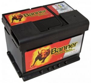 Autobaterie Banner 12V, 63Ah, 600A Power Bull PROfessional P6342