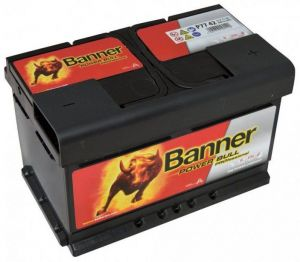 Autobaterie Banner 12V, 77Ah, 680A Power Bull PROfessional P7742