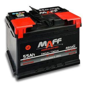 Autobaterie MAFF 55Ah 12V 460A