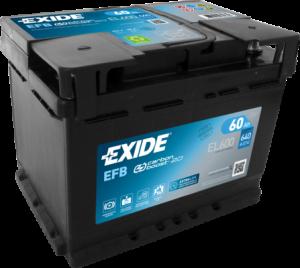 EXIDE Start-Stop EFB 12V 60Ah 640A EL600
