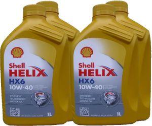 SHELL HELIX HX6 10W-40 4L  (4x1L)