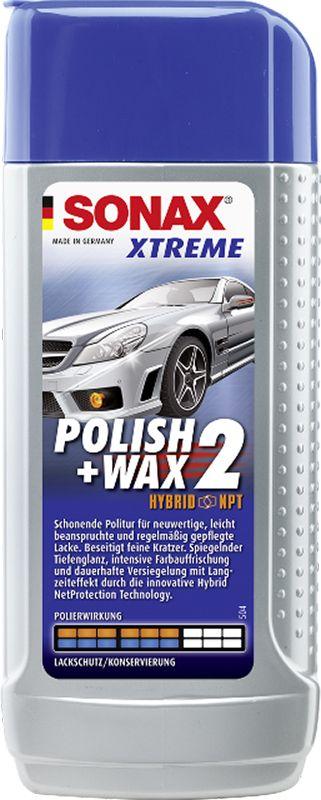 SONAX Xtreme leštěnka s voskem WAX2 250 ml