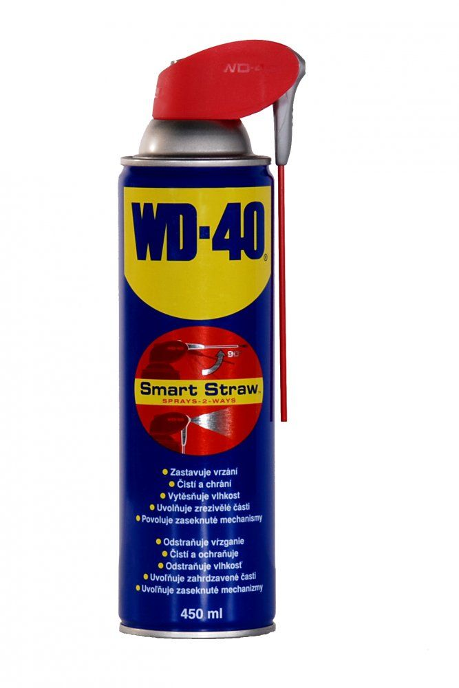 WD-40 SPREJ 450 ml smart straw