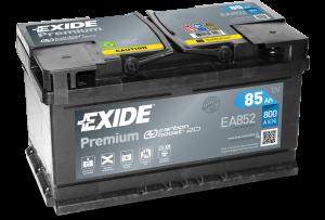 Autobaterie EXIDE Premium 12V 85Ah 800A  EA852