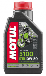 MOTUL 5100 Ester 4T 10W-50 1 L